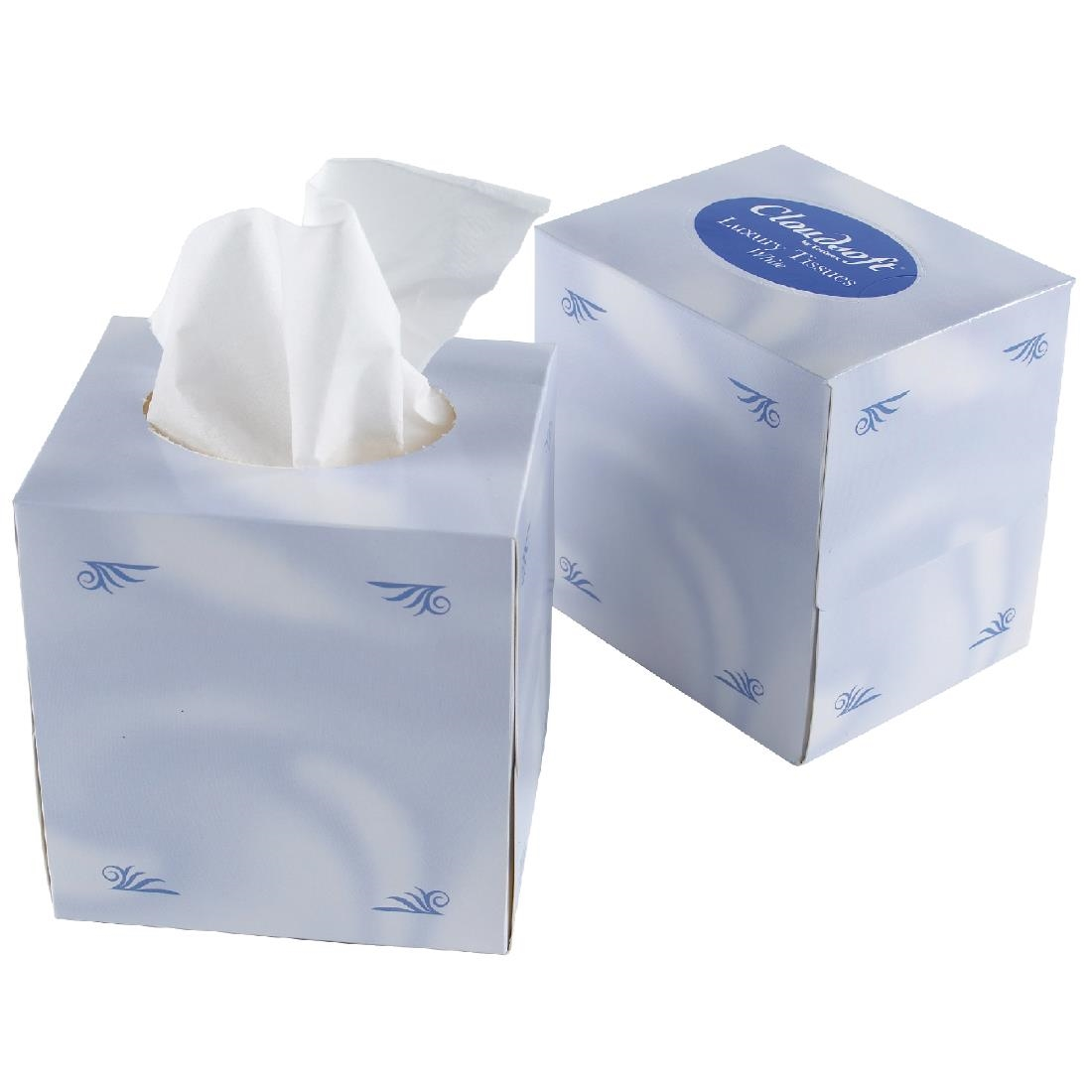 Image of Facial Tissues Cube (Pack of 24) Pack of 24