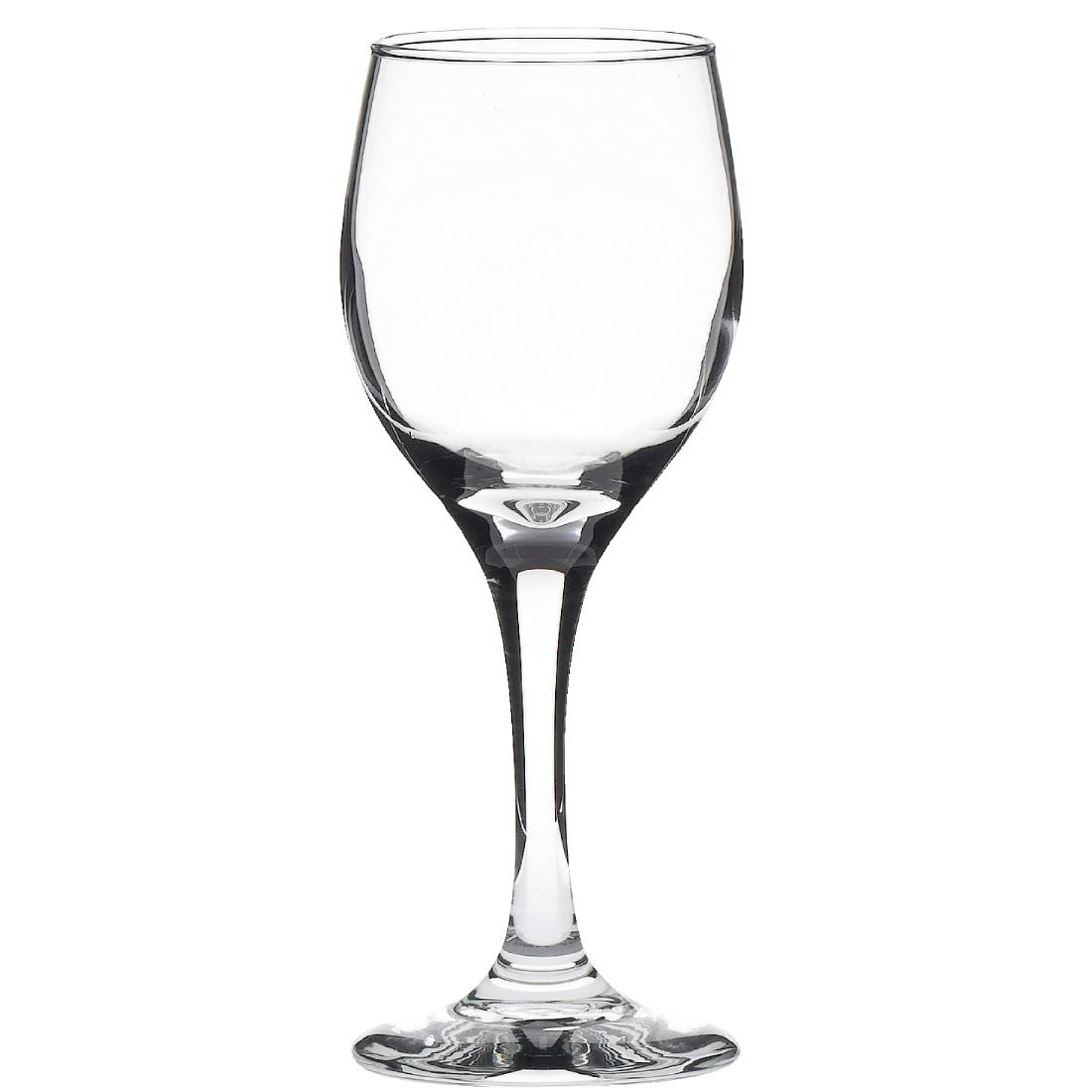 Libbey Perception Wine Glasses 240ml CE Marked at 175ml Pack of 12