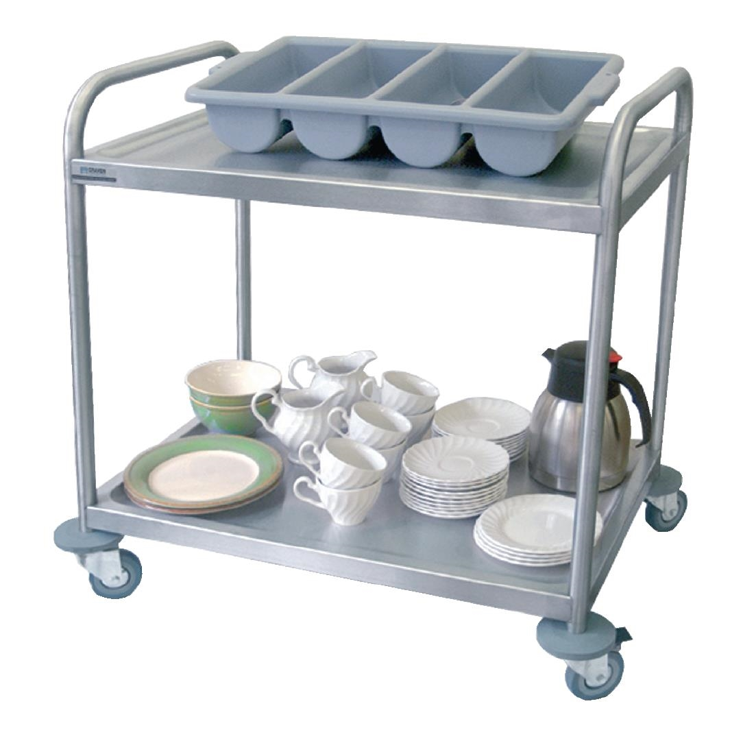 Image of Craven 2 Tier Serving Trolley