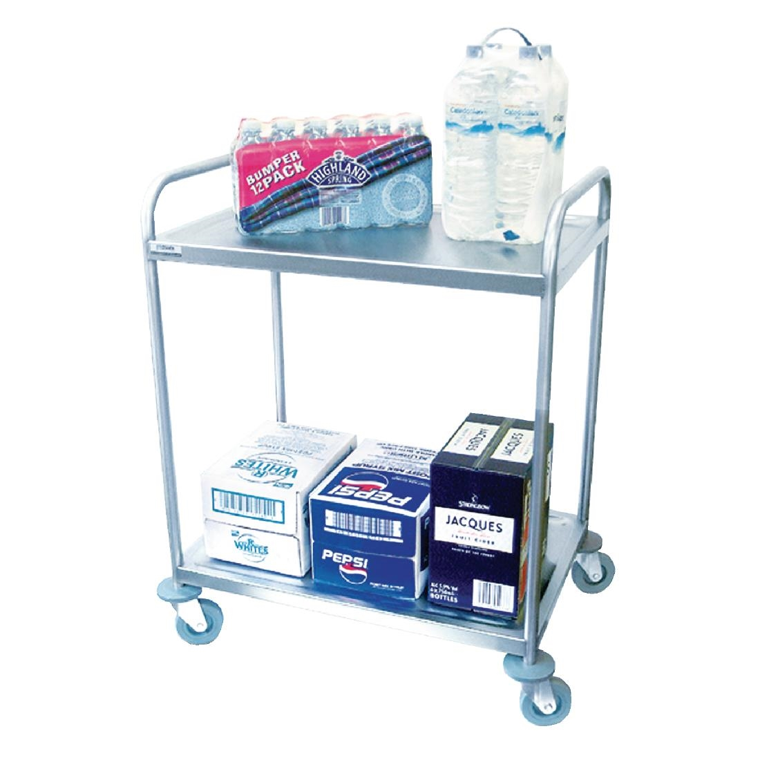 Image of Craven 2 Tier Undercounter Serving Trolley