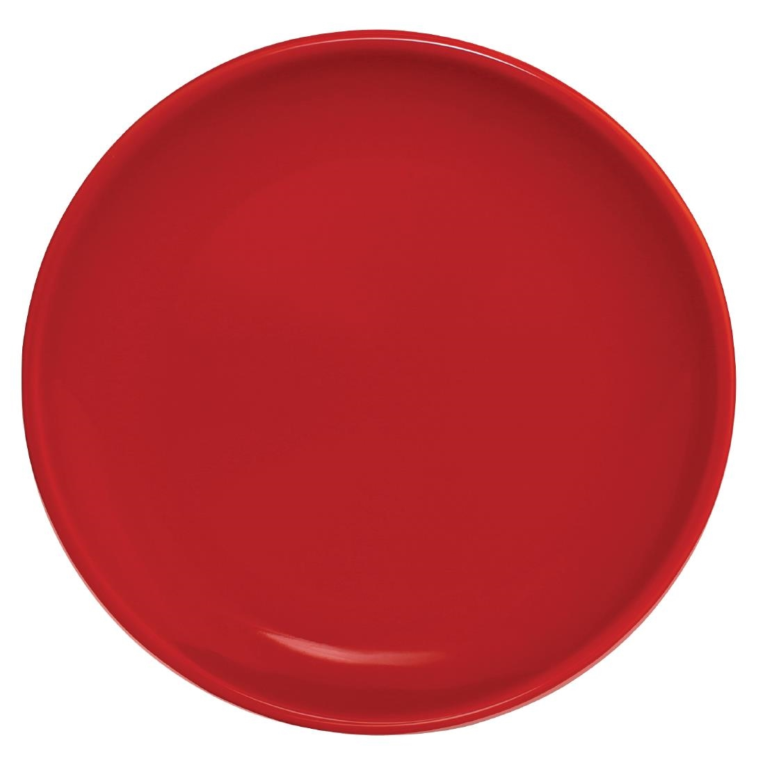 Click to view product details and reviews for Olympia Cafe Coupe Plate Red 205mm Pack Of 12 Pack Of 12.