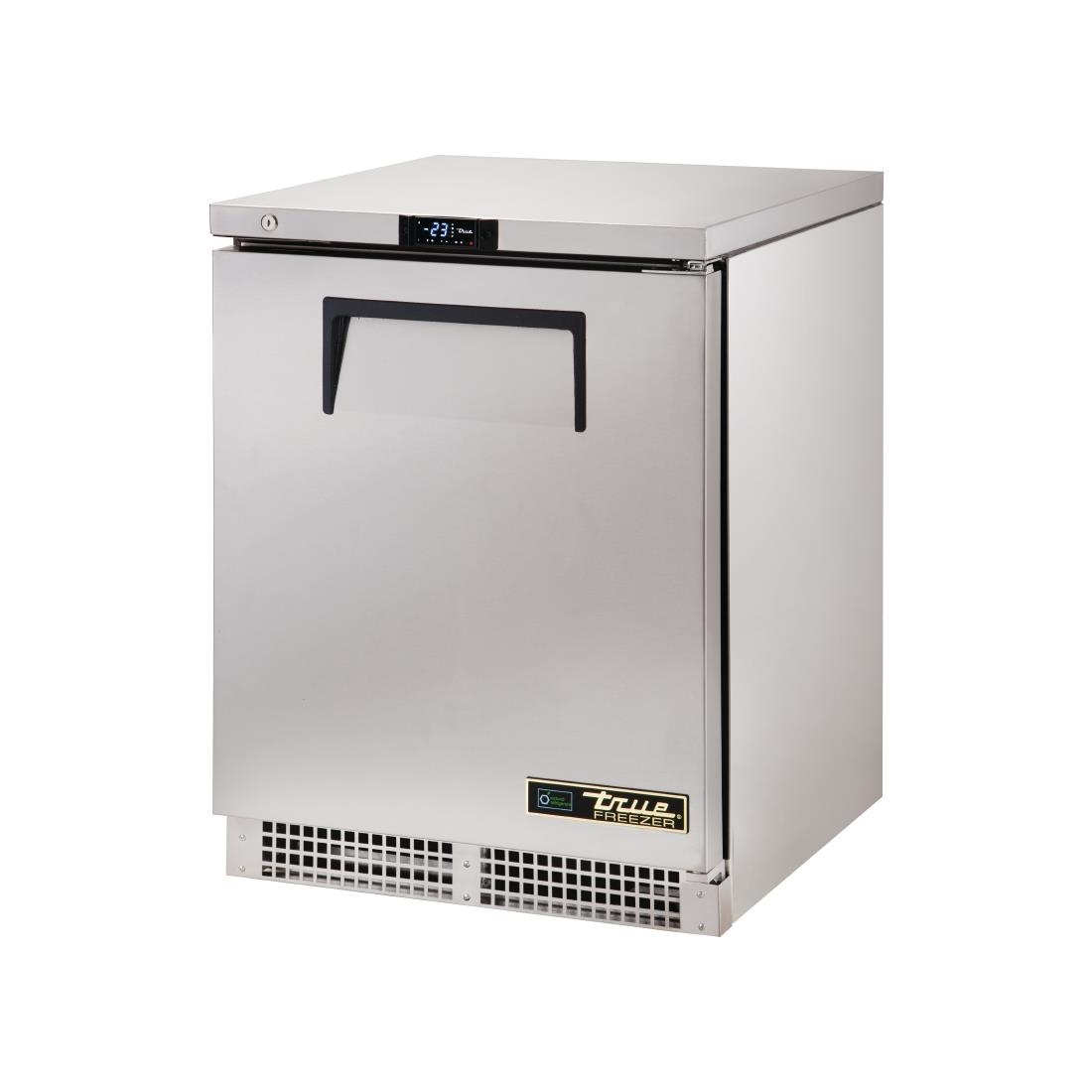 True 1 Solid Hinged Door Undercounter Freezer TUC-24F-HC