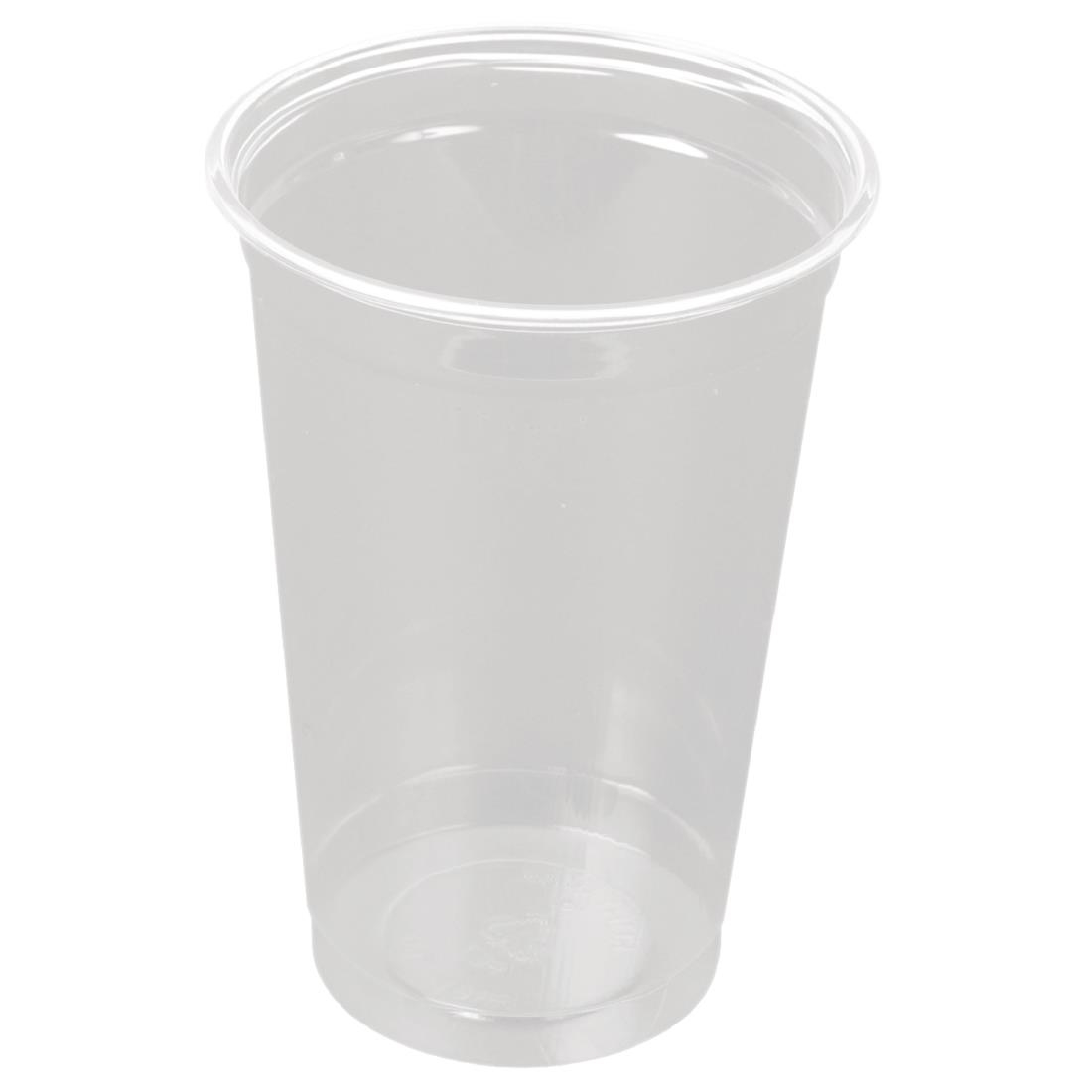 Image of Huhtamaki Disposable Half Pint to Line Tumbler (Pack of 1000) Pack of 1000