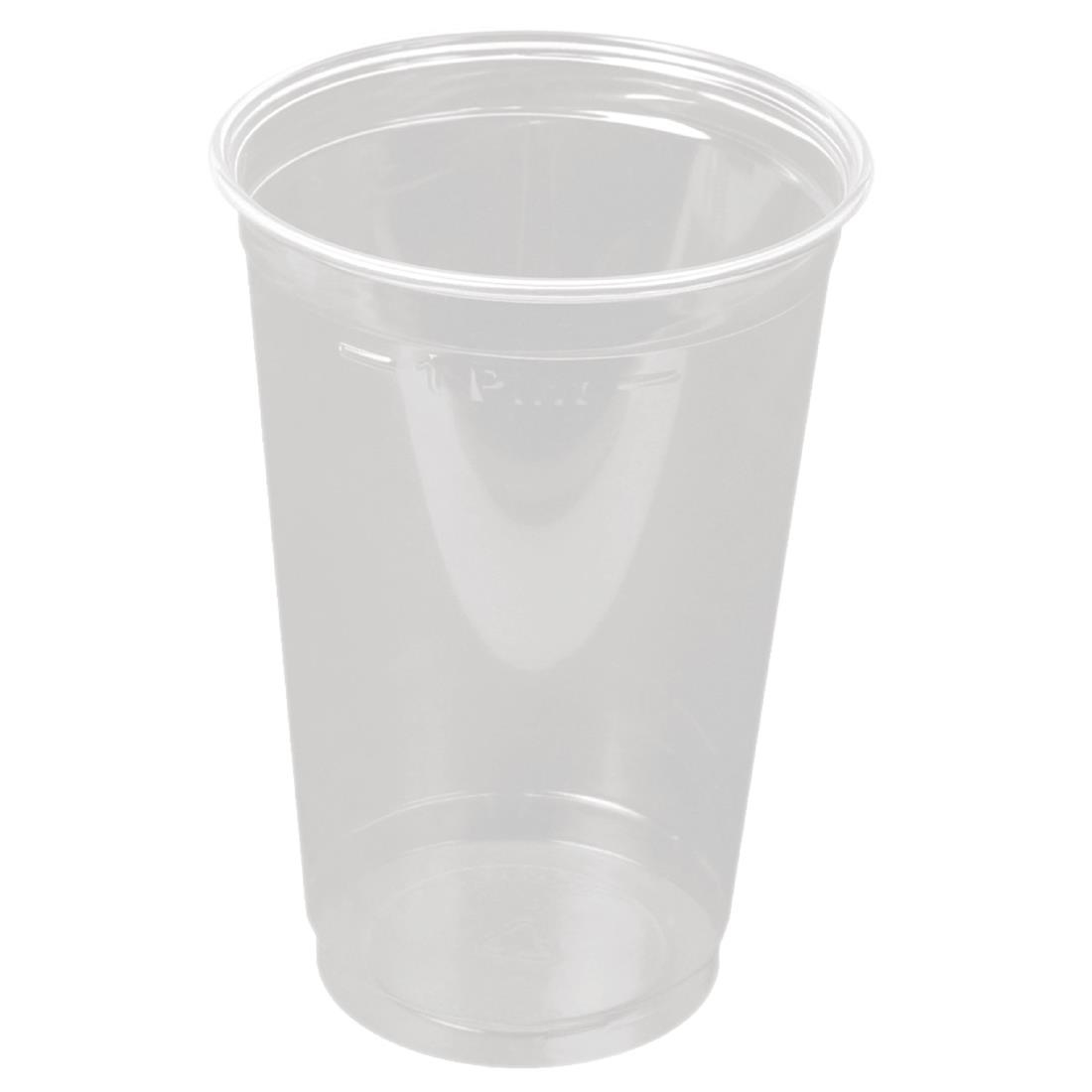 Image of Huhtamaki Disposable Pint to Line Tumbler (Pack of 500) Pack of 500