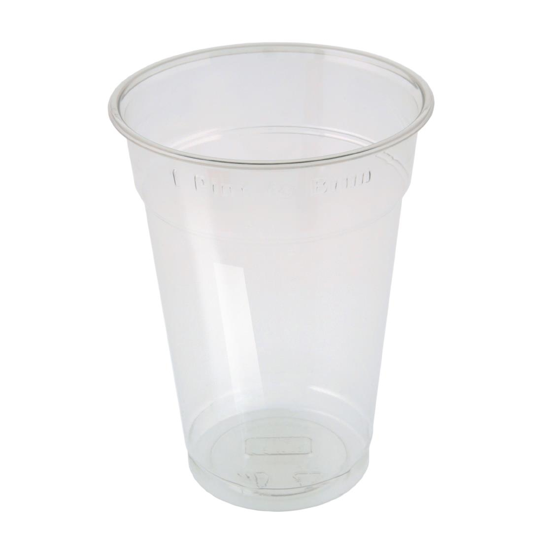 Image of Huhtamaki Disposable Pint to Brim Tumbler (Pack of 500) Pack of 500