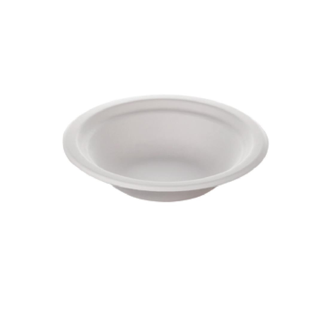 Image of Huhtamaki Compostable Moulded Fibre Chinet Bowls 12oz (Pack of 140) Pack of 140