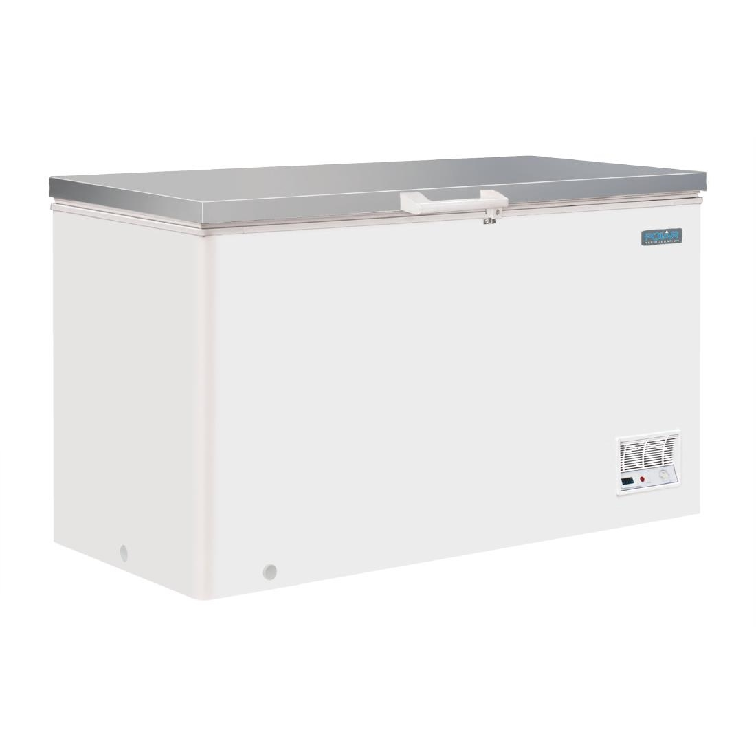 Polar Chest Freezer With Stainless Steel Lid 385ltr Cm530 Buy 100 Box R600a
