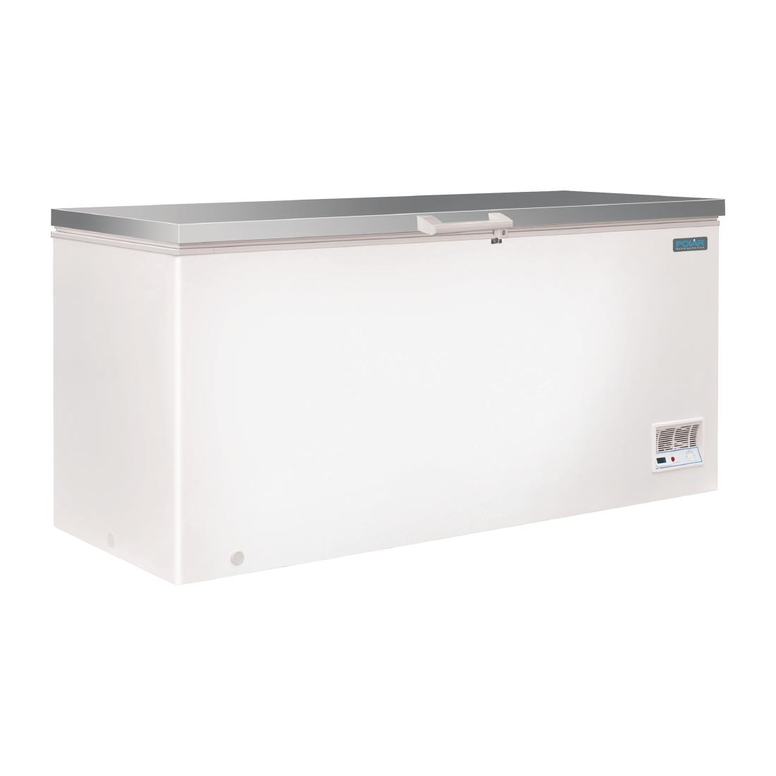 Polar Chest Freezer With Stainless Steel Lid 516ltr Cm531 Buy 100 Box R600a
