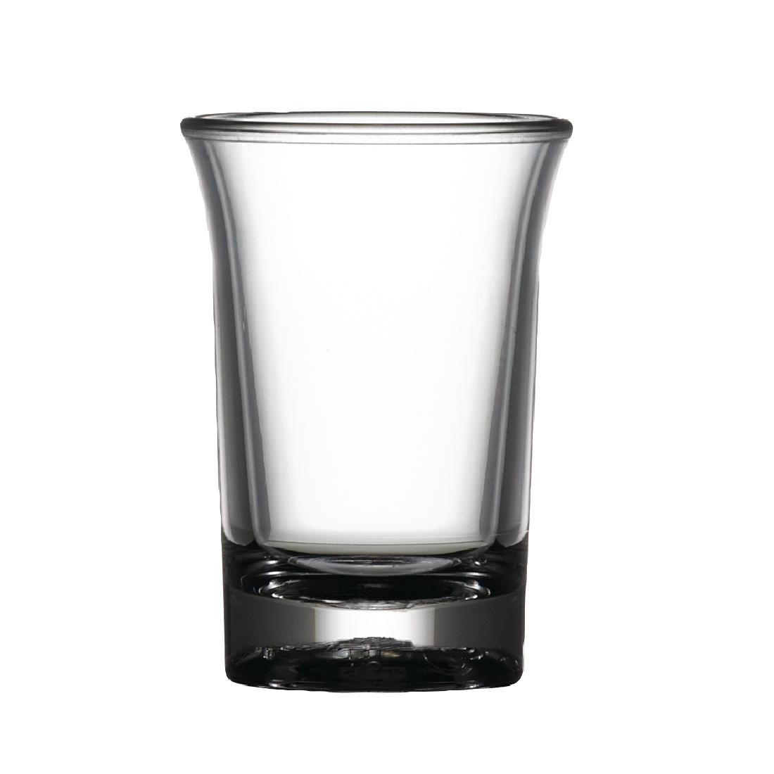 Image of BBP Polycarbonate Elite CE Shot Glass 25ml (Pack of 24) Pack of 24