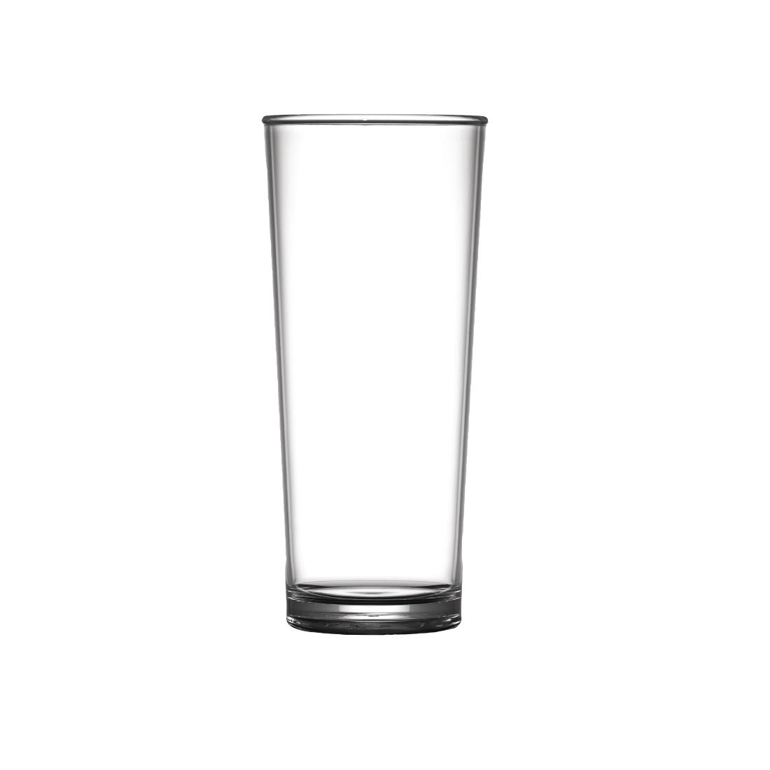 Image of BBP Polycarbonate Elite Pint Glass CE 20oz (Pack of 24) Pack of 24