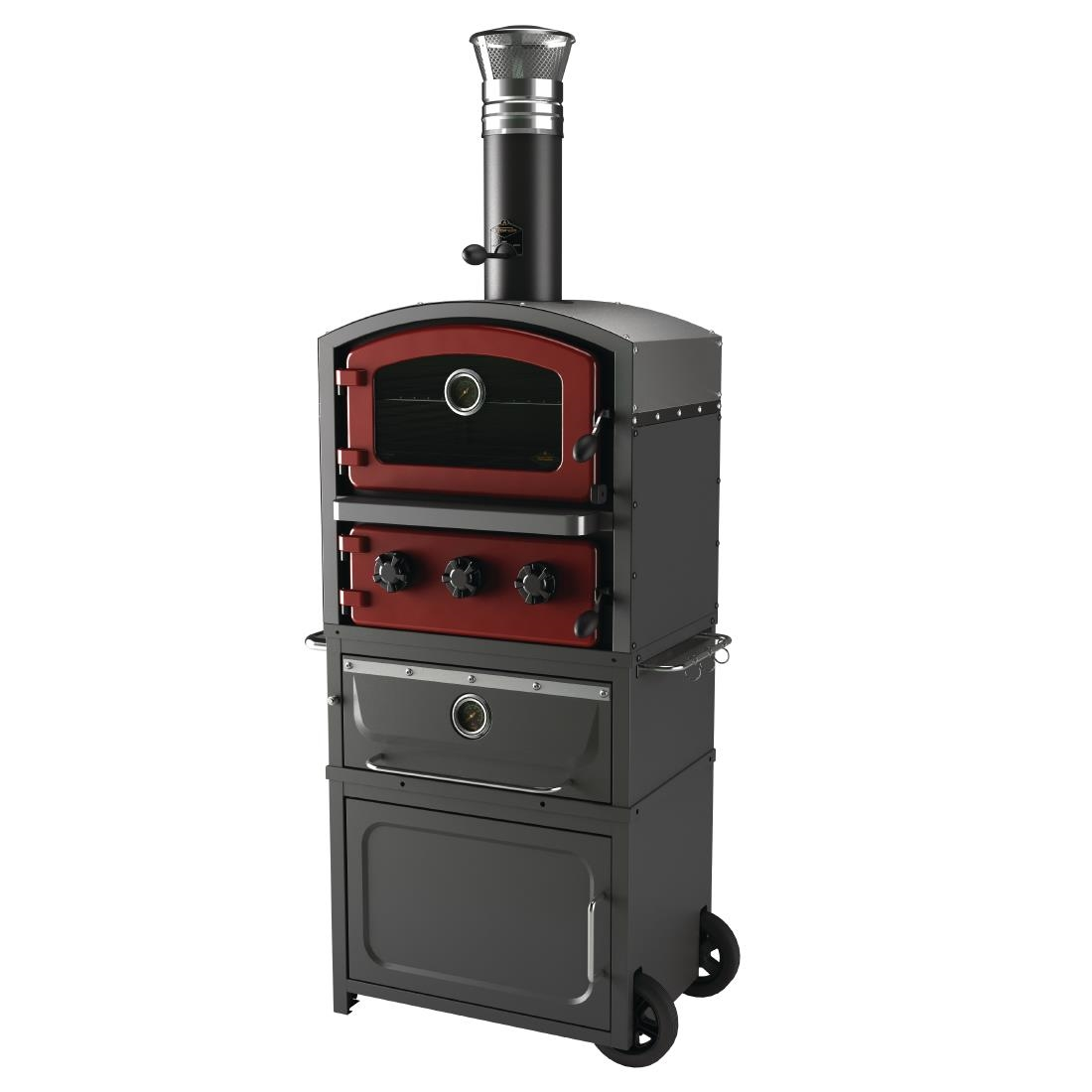 Fornetto Alto Wood Fired Oven and Smoker Brick GLPZ7EUR