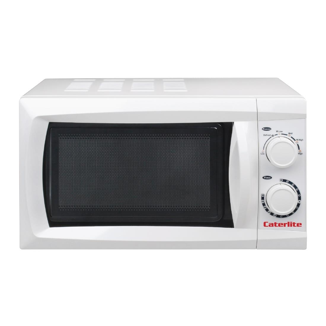 Powerful Microwave Oven: Caterlite Compact Microwave Oven Manual Power Output
