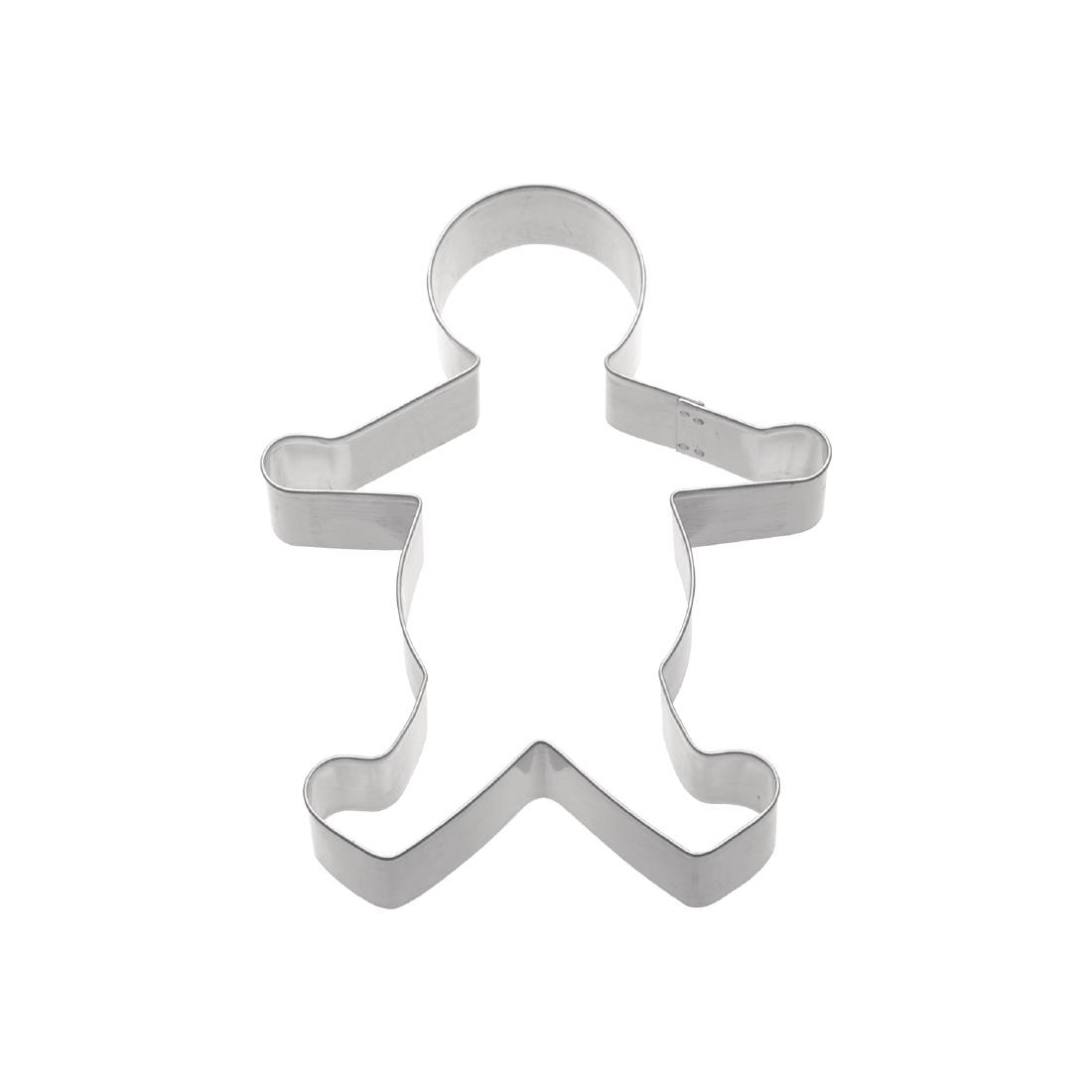 Image of Kitchen Craft Gingerbread Man Cookie Cutter 85mm