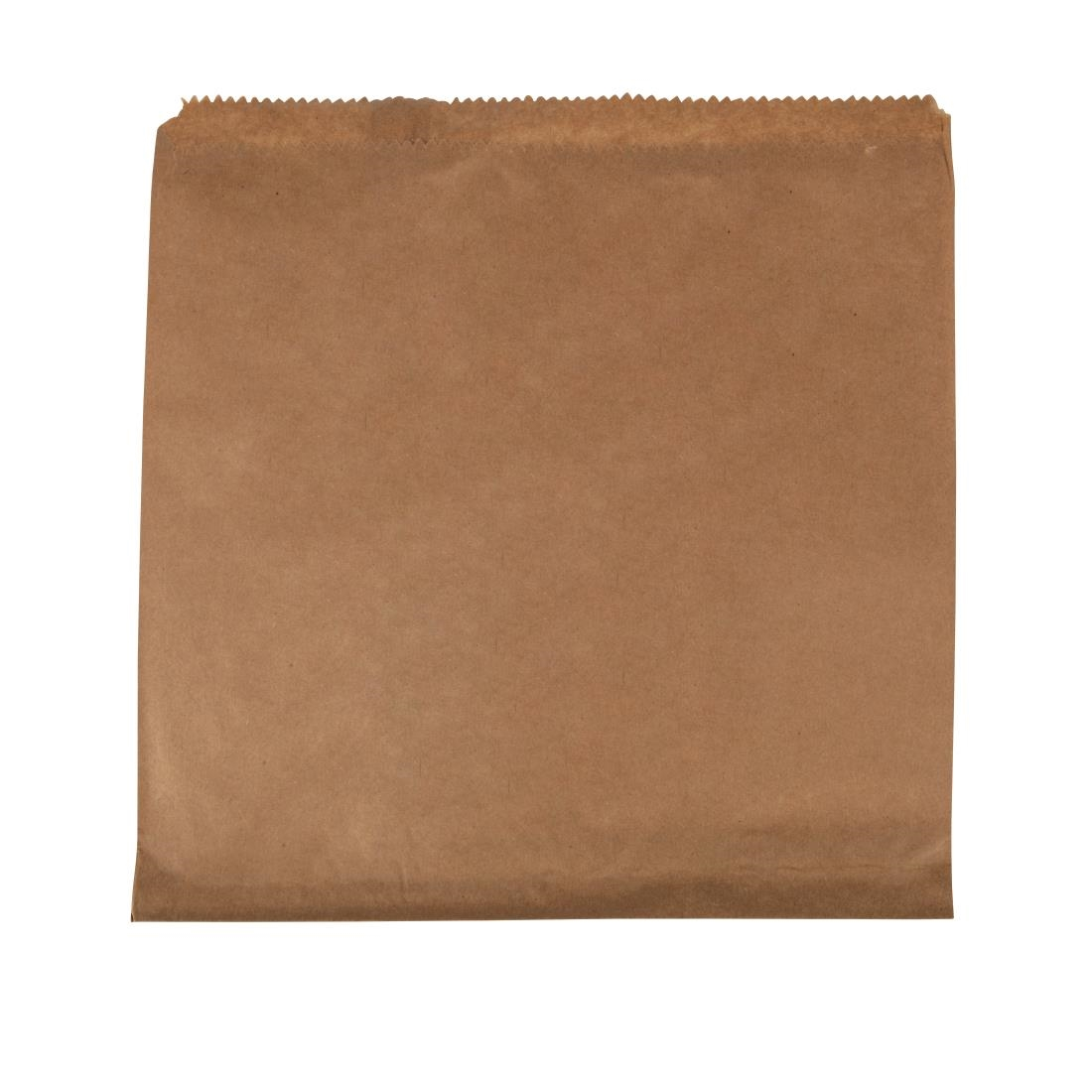 Image of Fiesta Brown Paper Counter Bags Large (Pack of 1000) Pack of 1000