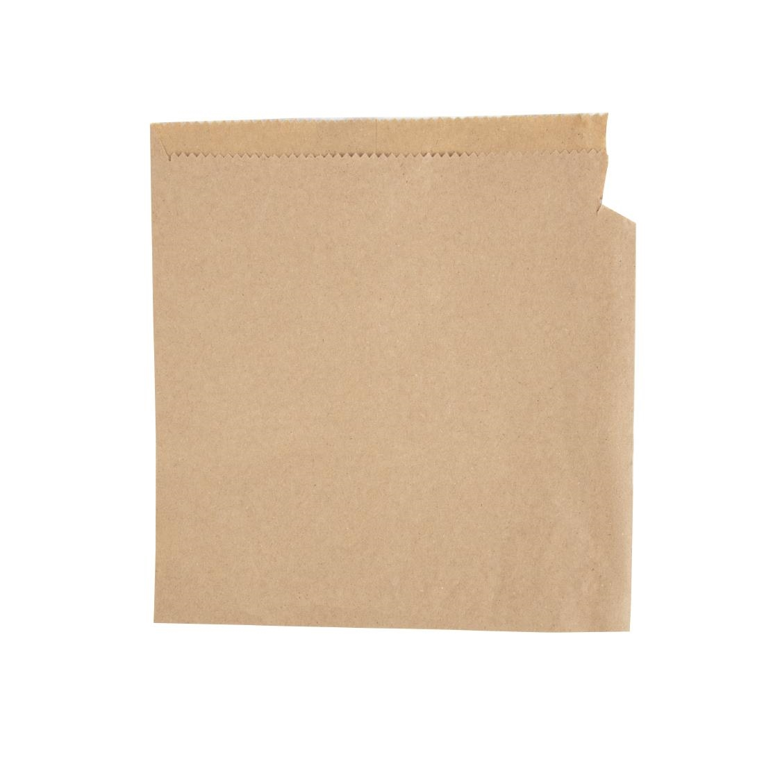 Image of Fiesta Brown Paper Counter Bags Small (Pack of 1000) Pack of 1000