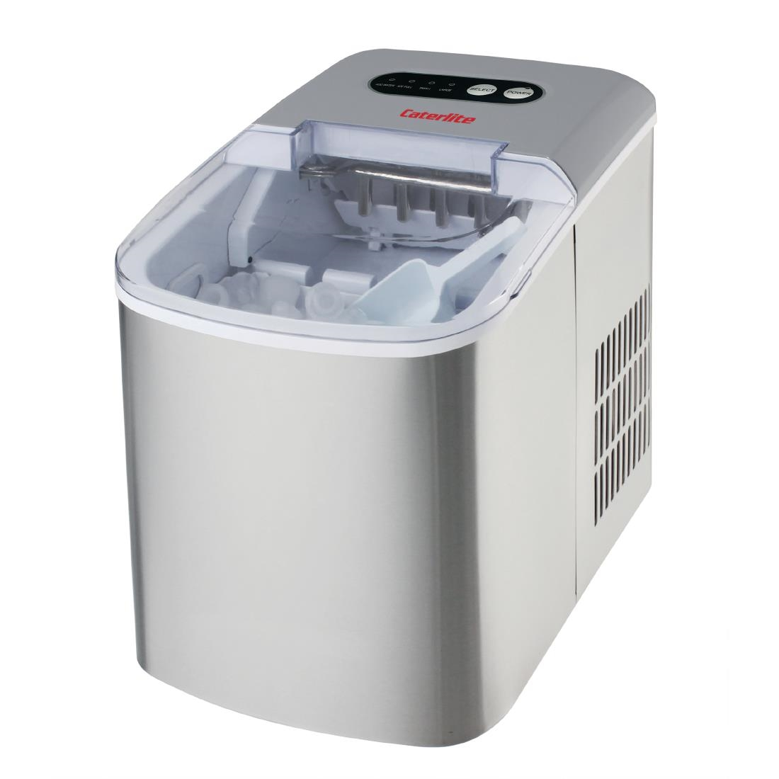 Image of Caterlite Countertop Manual Fill Ice Machine