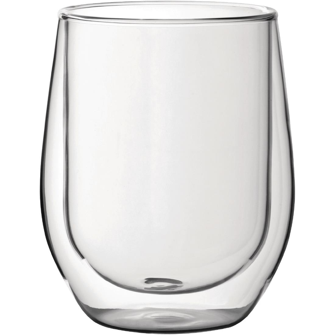 Utopia Double Walled Whiskey Glass 330ml (Pack of 6)