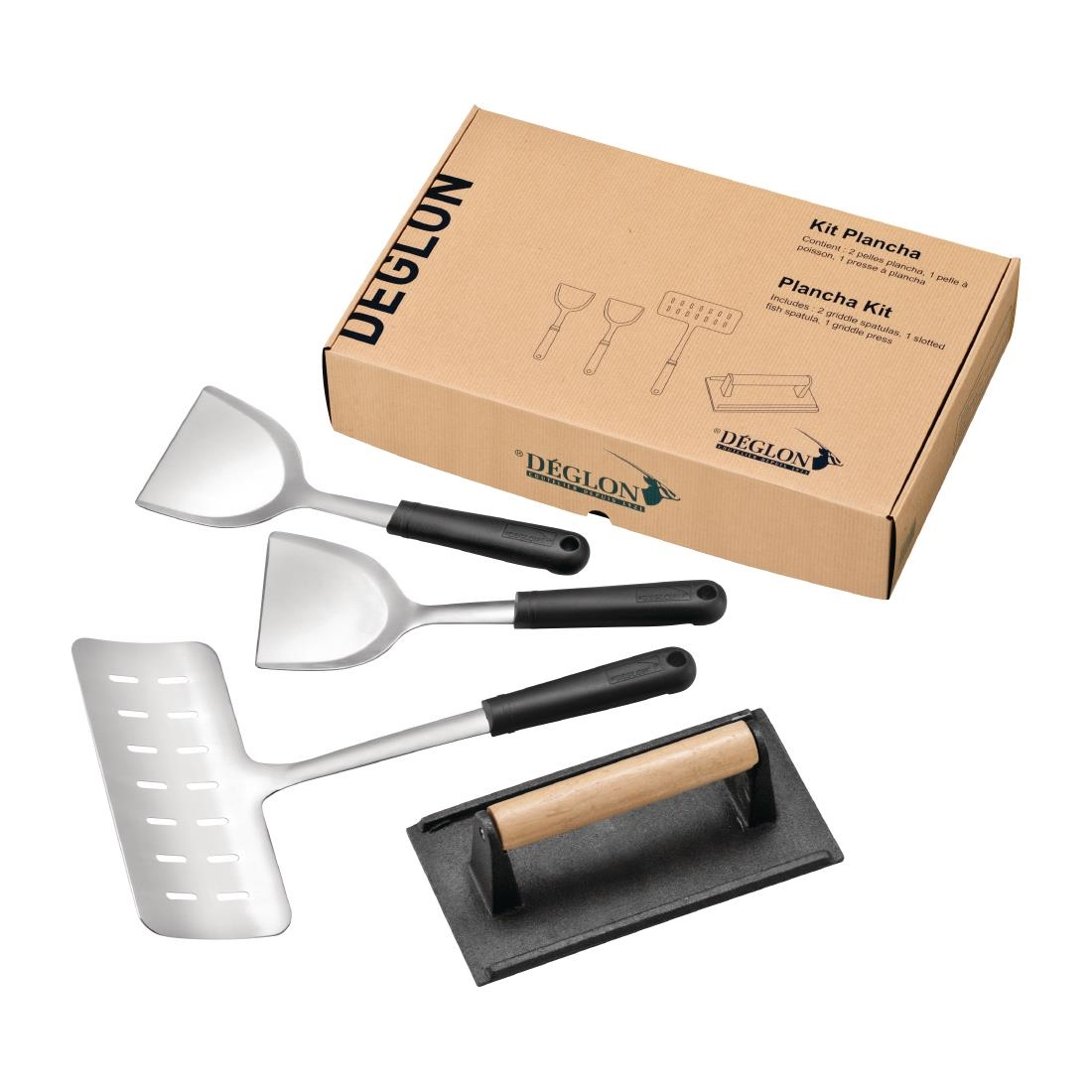 Click to view product details and reviews for Deglon Plancha Kit Pack Of 4 Pack Of 4.
