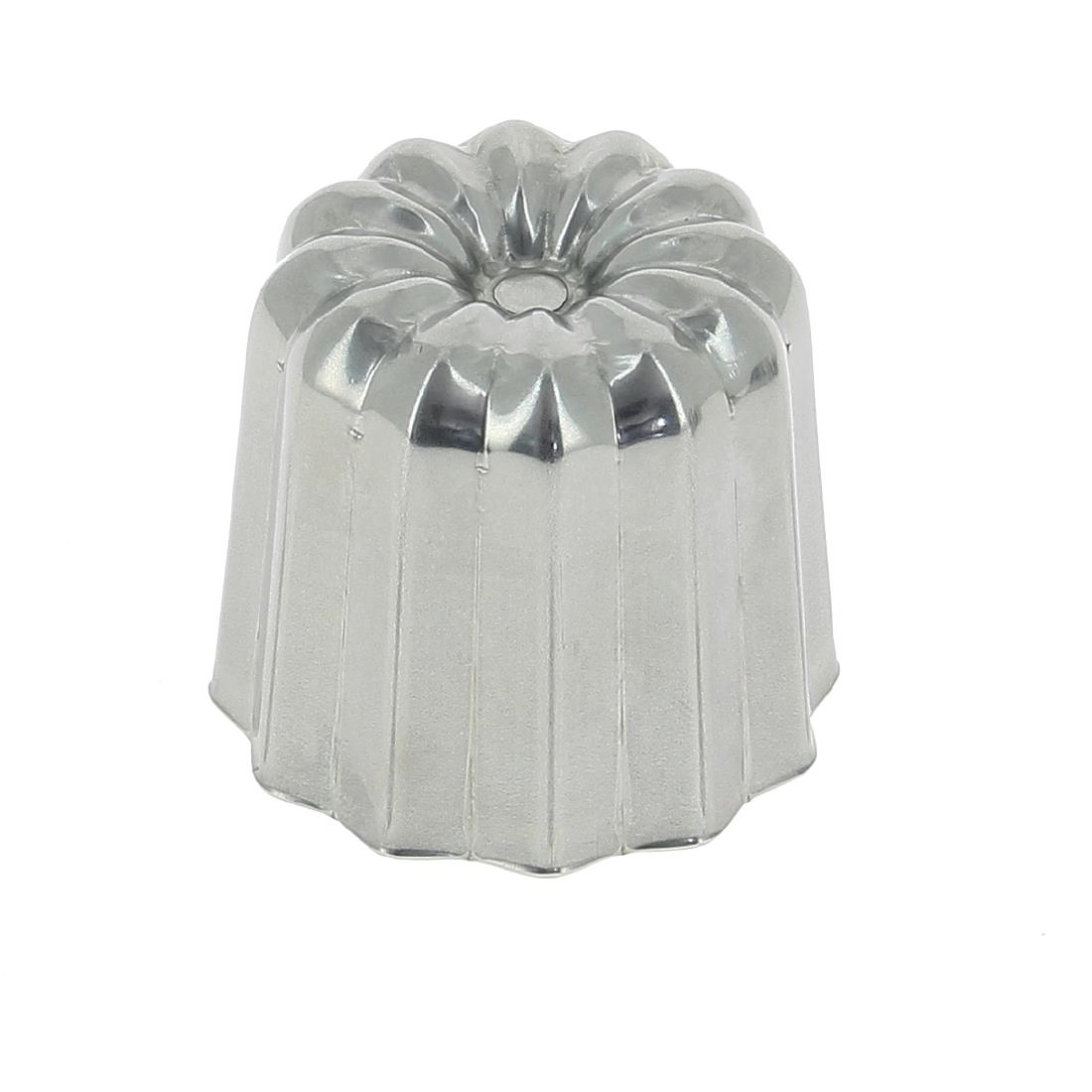DeBuyer Stainless Steel Canele Fluted Mould 45mm
