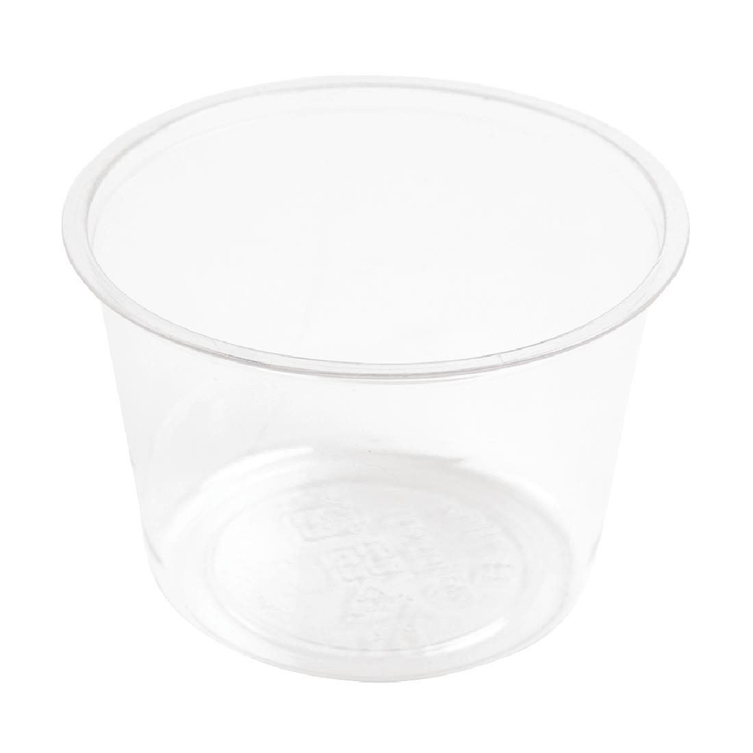 Vegware Compostable Cold Portion Pots 118ml / 4oz Pack of 2000