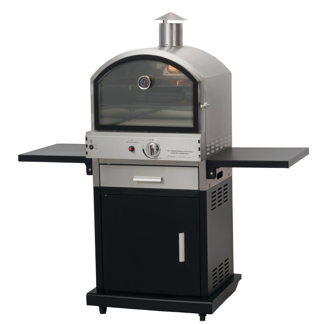 Lifestyle Verona Gas BBQ Pizza Oven LFS691