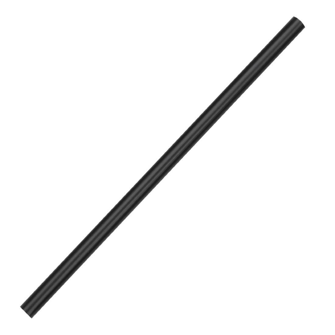 Fiesta Green Compostable CPLA Cocktail Stirrer Straws Black Pack of 250