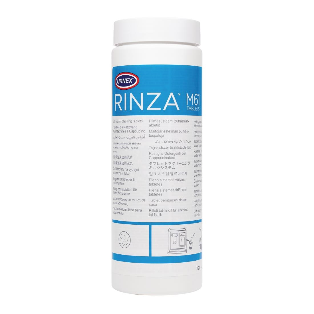 Rinza Milk Frother Cleaning Tablets M61