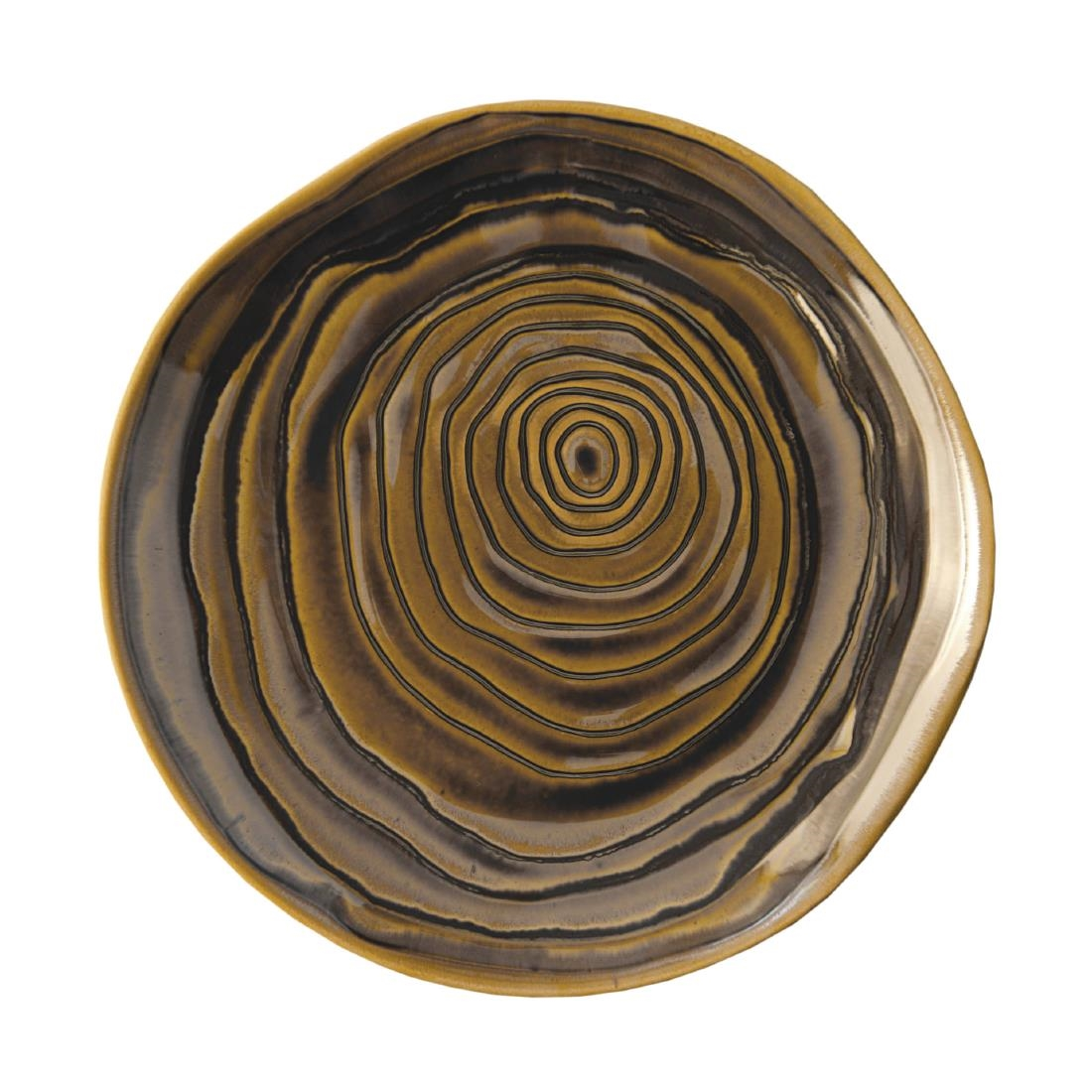 Image of Pillivuyt Teck Plate 11 Bronze (Pack of 3) Pack of 3