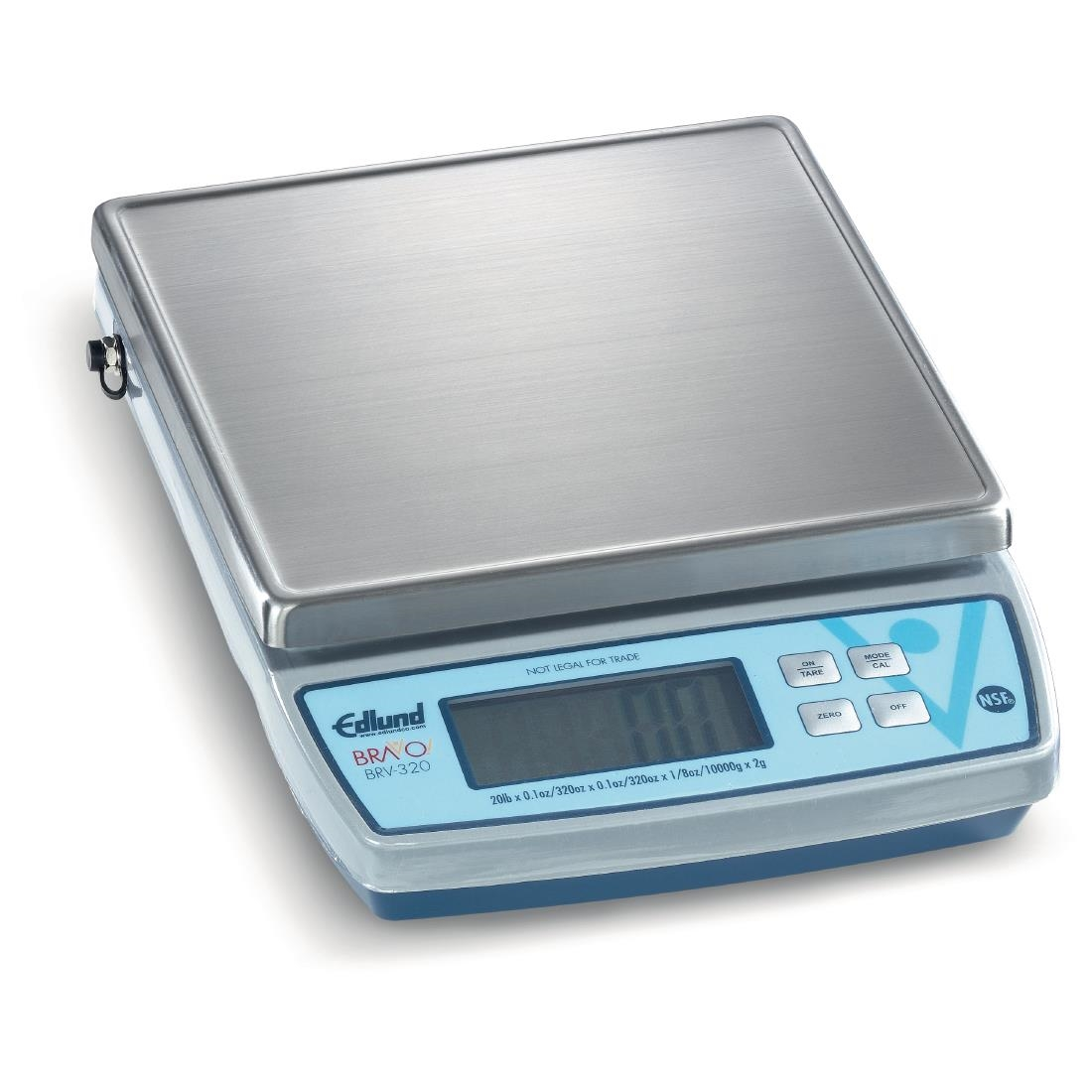 Edlund Bravo 320 Digital Scales with Clearshield Protective Cover 9Kg