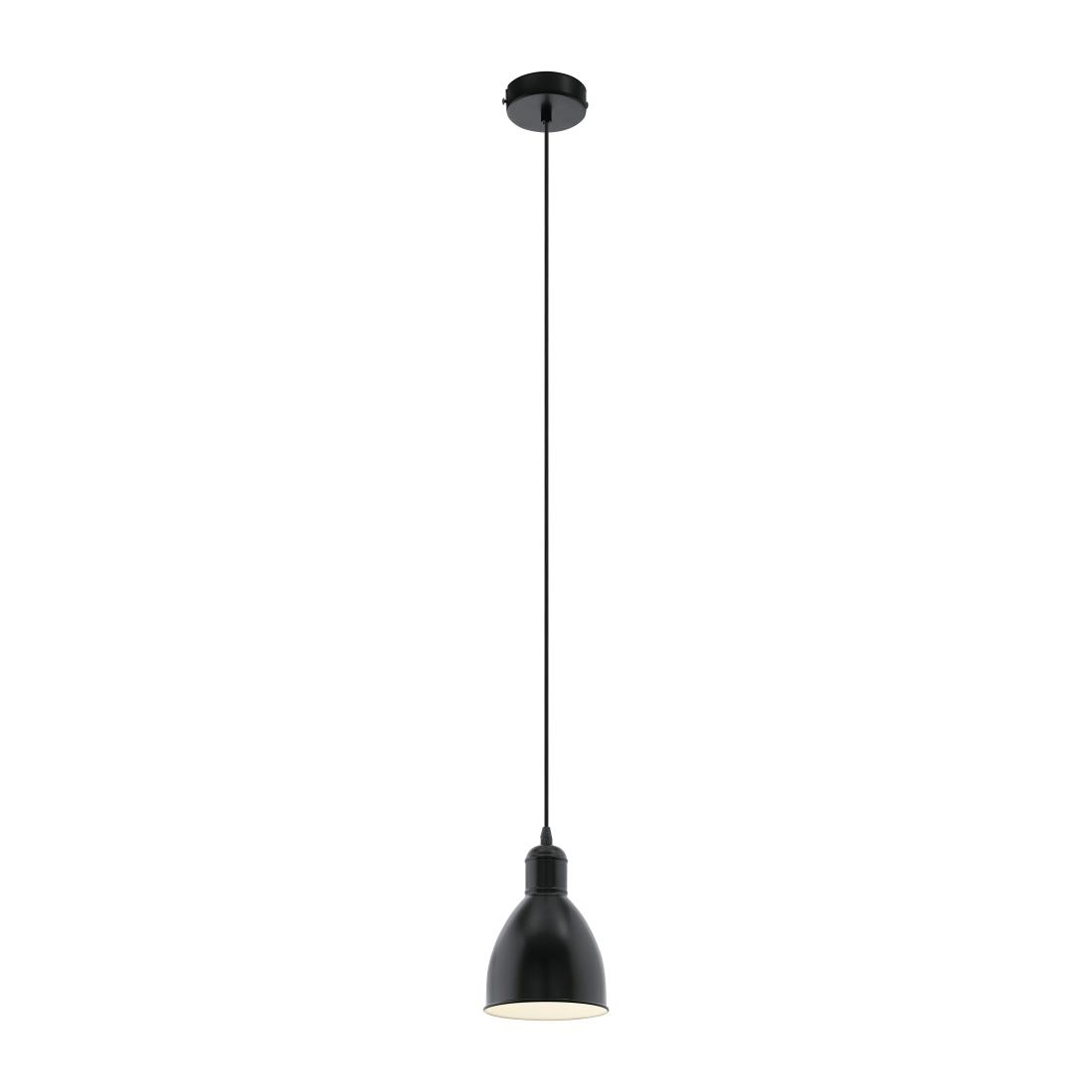Image of Eglo Priddy Steel Shade Pendant