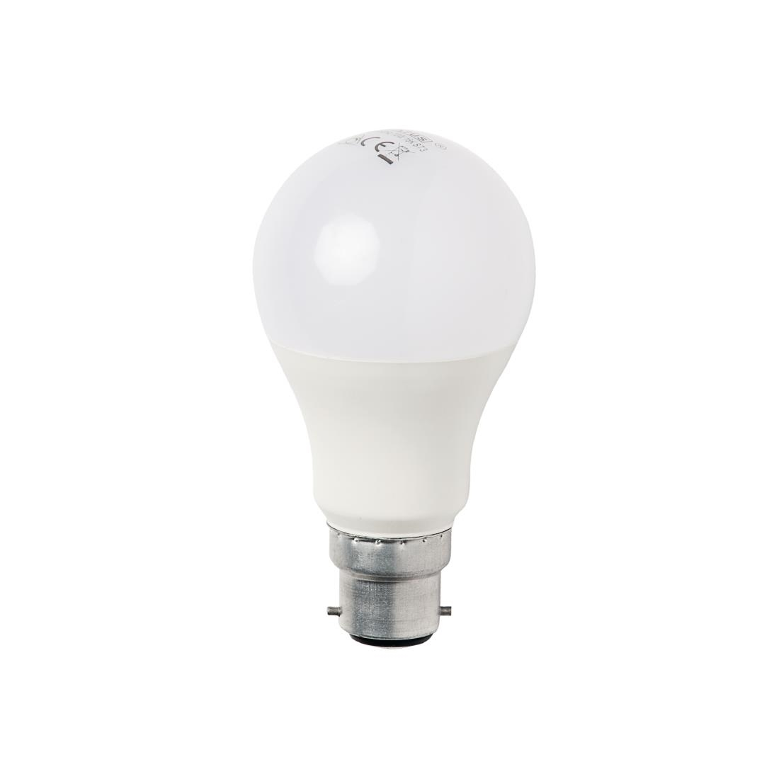 Status LED 10w BC Dimmable GLS Lamp