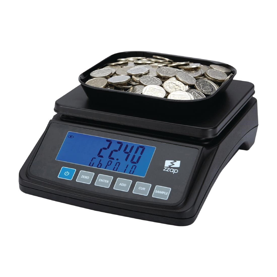 ZZap MS10 Coin Counting Scale