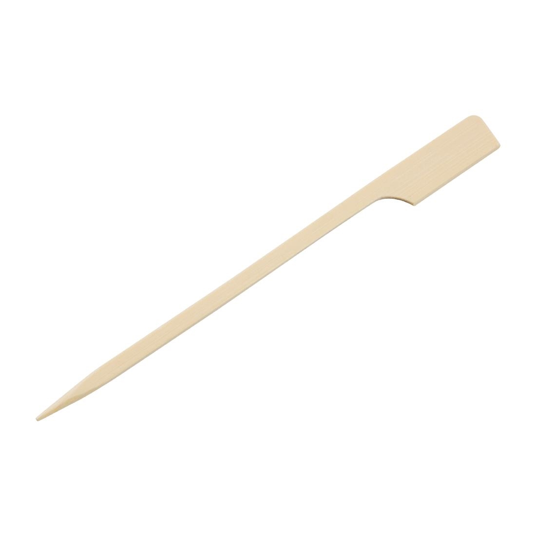 Fiesta Green Biodegradable Bamboo Paddle Skewers 120mm Pack of 100