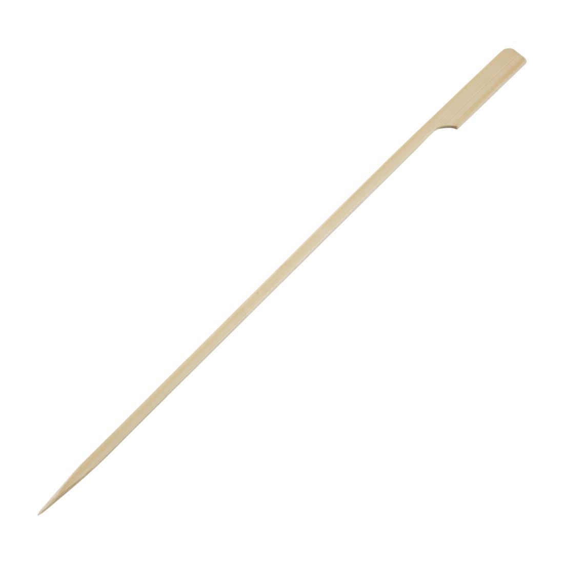 Fiesta Green Biodegradable Bamboo Paddle Skewers 240mm Pack of 100