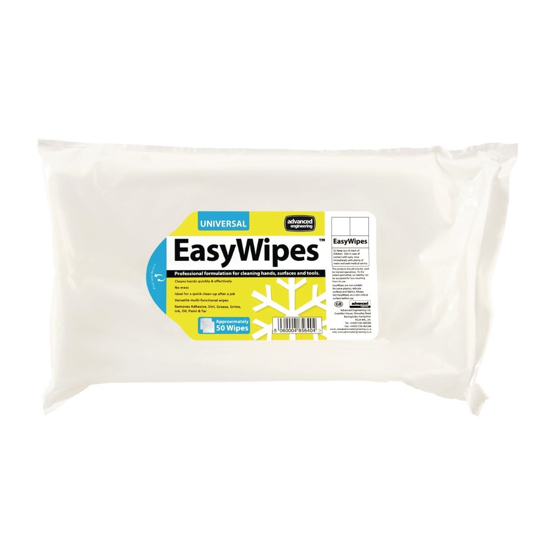 Image of EasyWipes Professional Grade Surface Wipes (20 x 50 Pack) Pack of 20