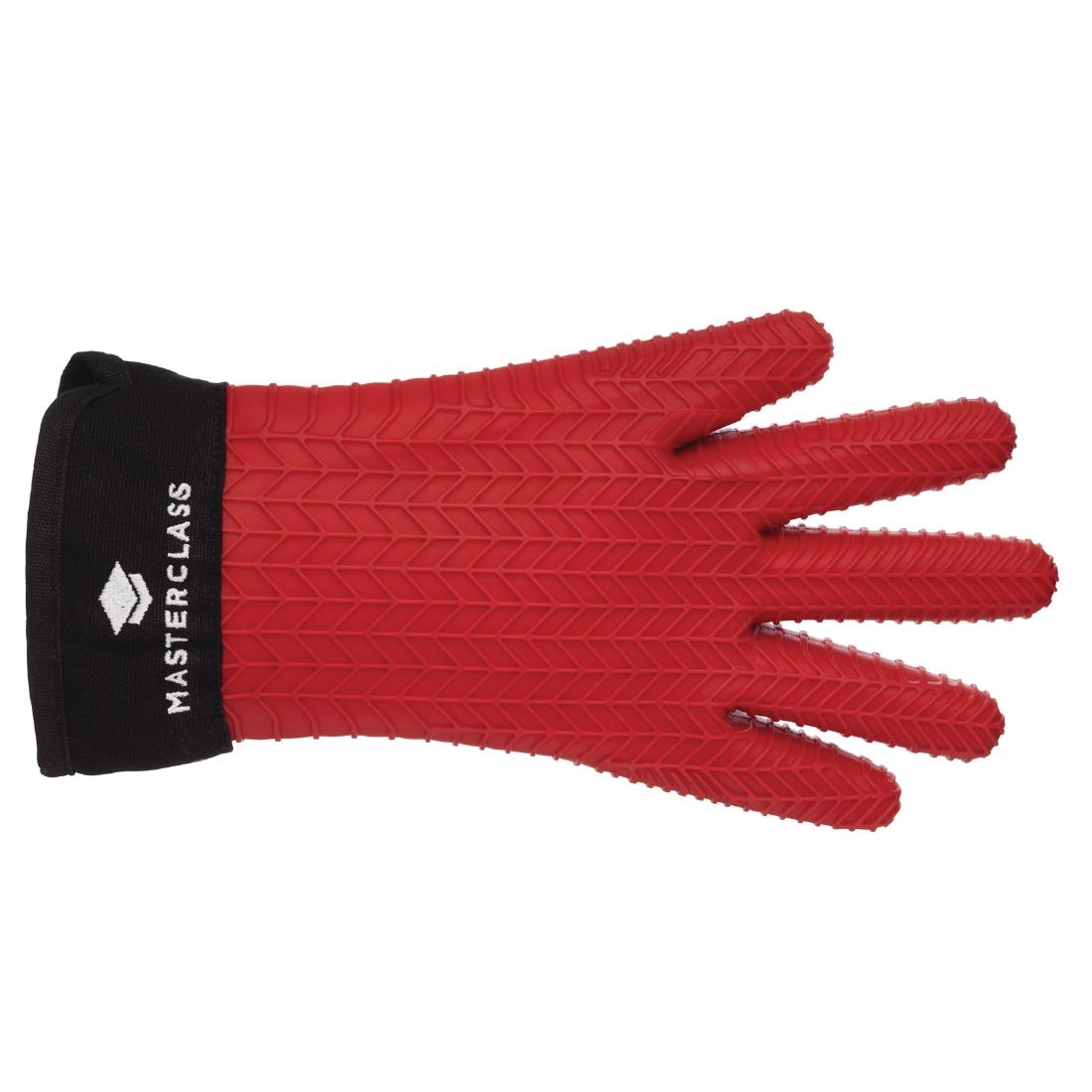 MasterClass Seamless Silicone Oven Glove with Cotton Sleeve