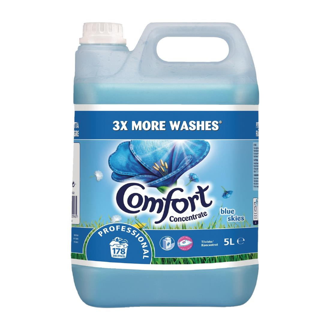 Image of Comfort Blue Skies Fabric Conditioner Concentrate 5Ltr (2 Pack) Pack of 2
