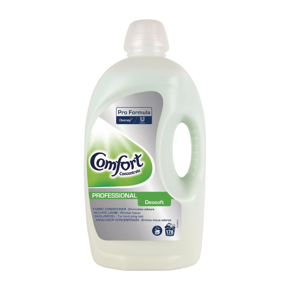 Image of Comfort Pro Formula Deosoft Fabric Conditioner Concentrate 5Ltr (2 Pack) Pack of 2