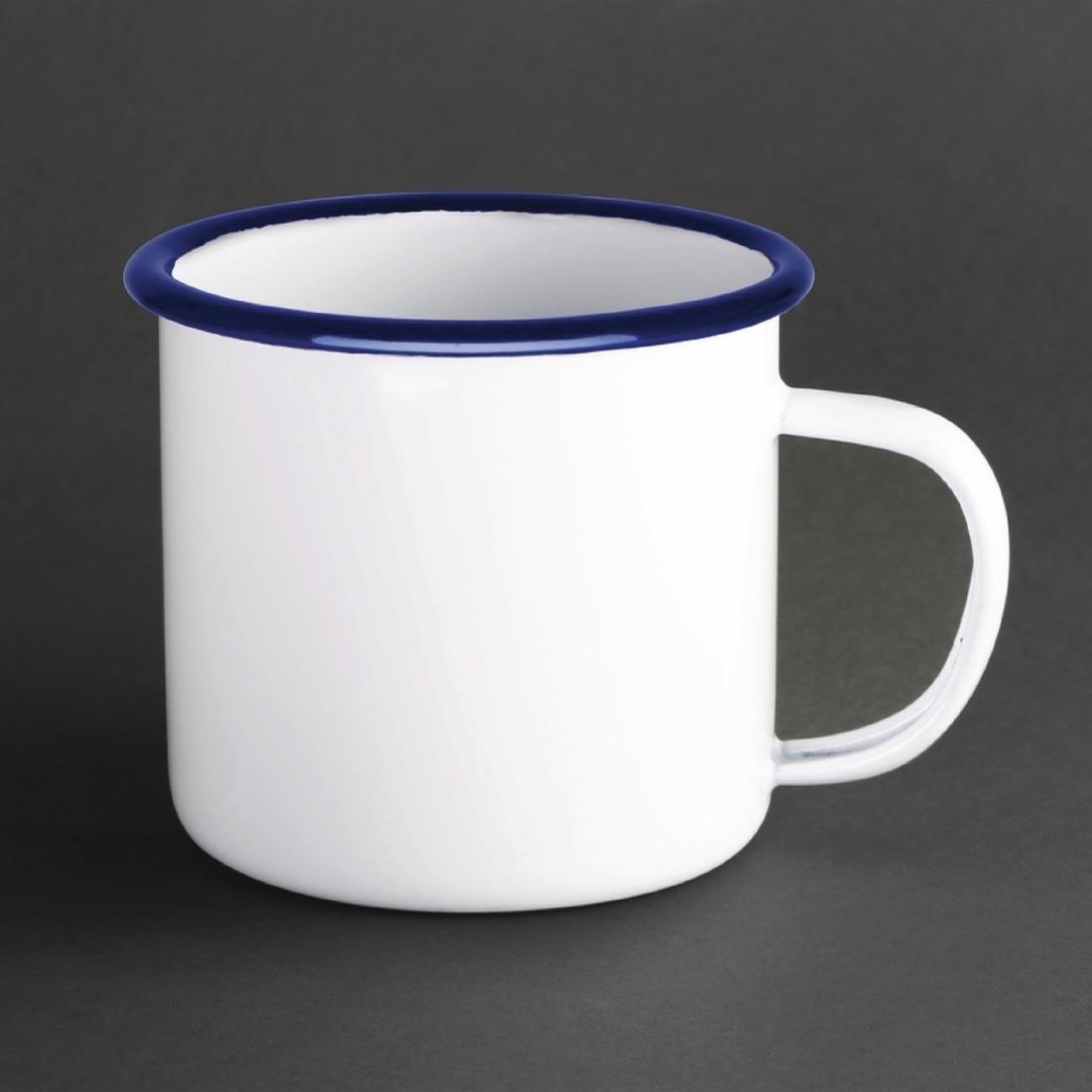 Click to view product details and reviews for Olympia Large Enamel Soup Mug 670ml Pack Of 6.