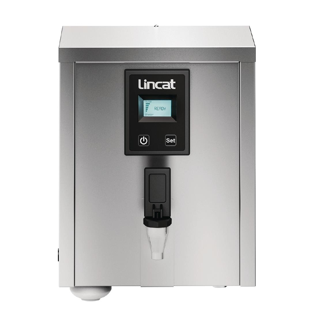 Lincat 3Ltr Wall Mounted Auto Fill Water Boiler with Filtration M3F