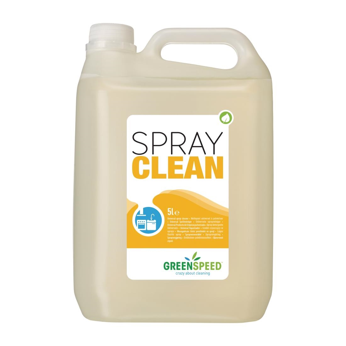 Image of Greenspeed All-Purpose Cleaner Ready To Use 5Ltr (4 Pack) Pack of 4