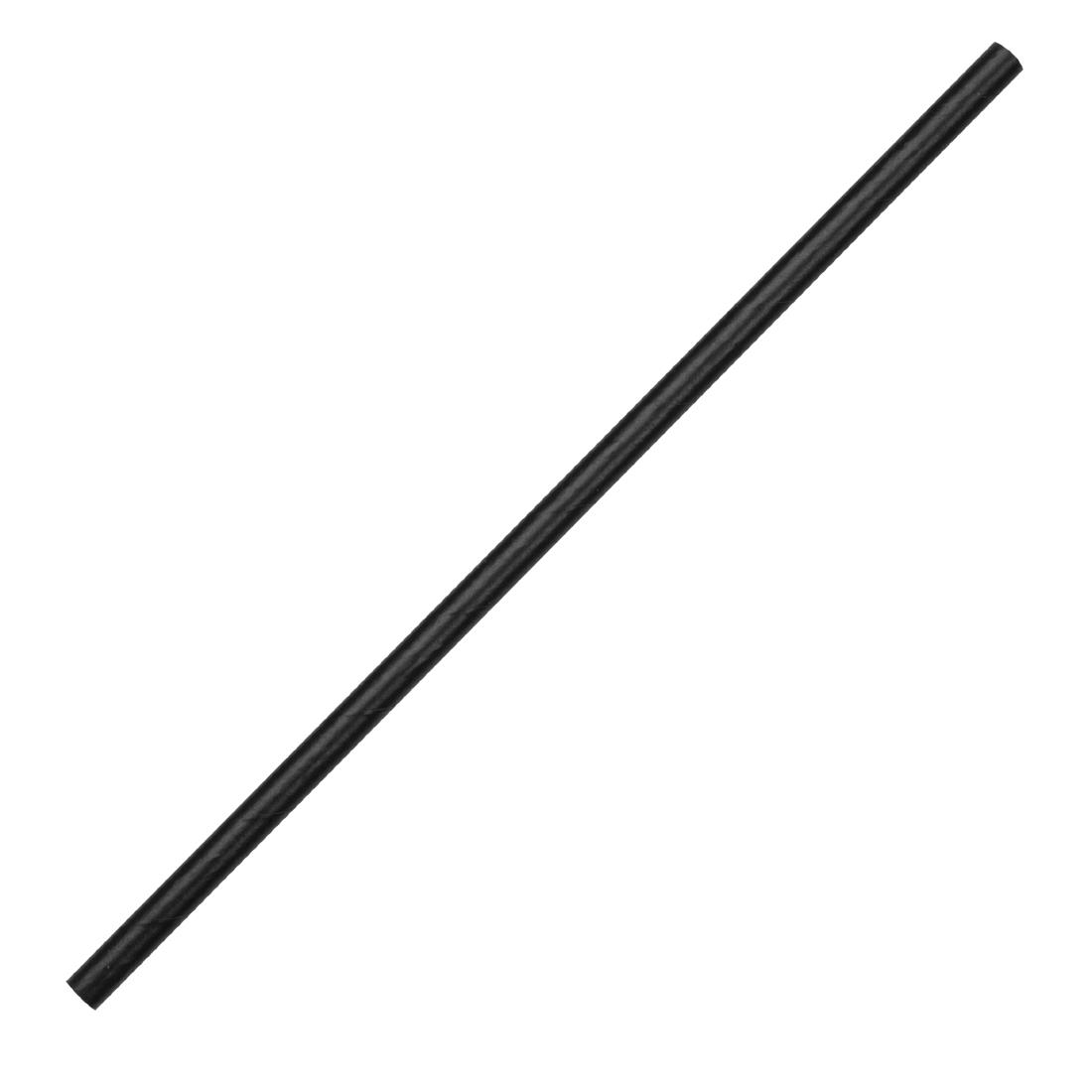 Fiesta Green Biodegradable Paper Straws Black Pack of 250