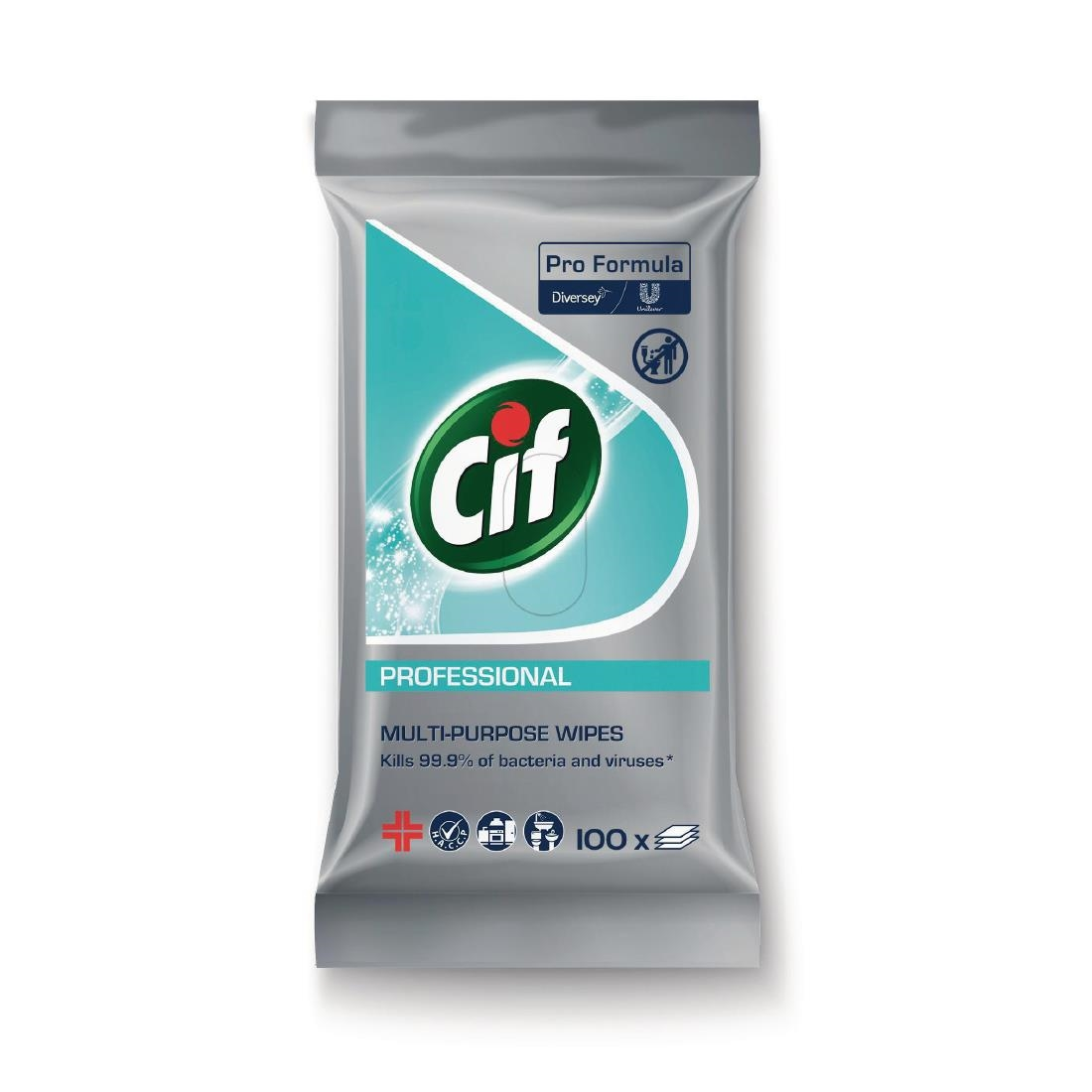 Image of CIF Pro Formula Multi-Purpose Disinfectant Wipes (100 Pack) Pack of 100