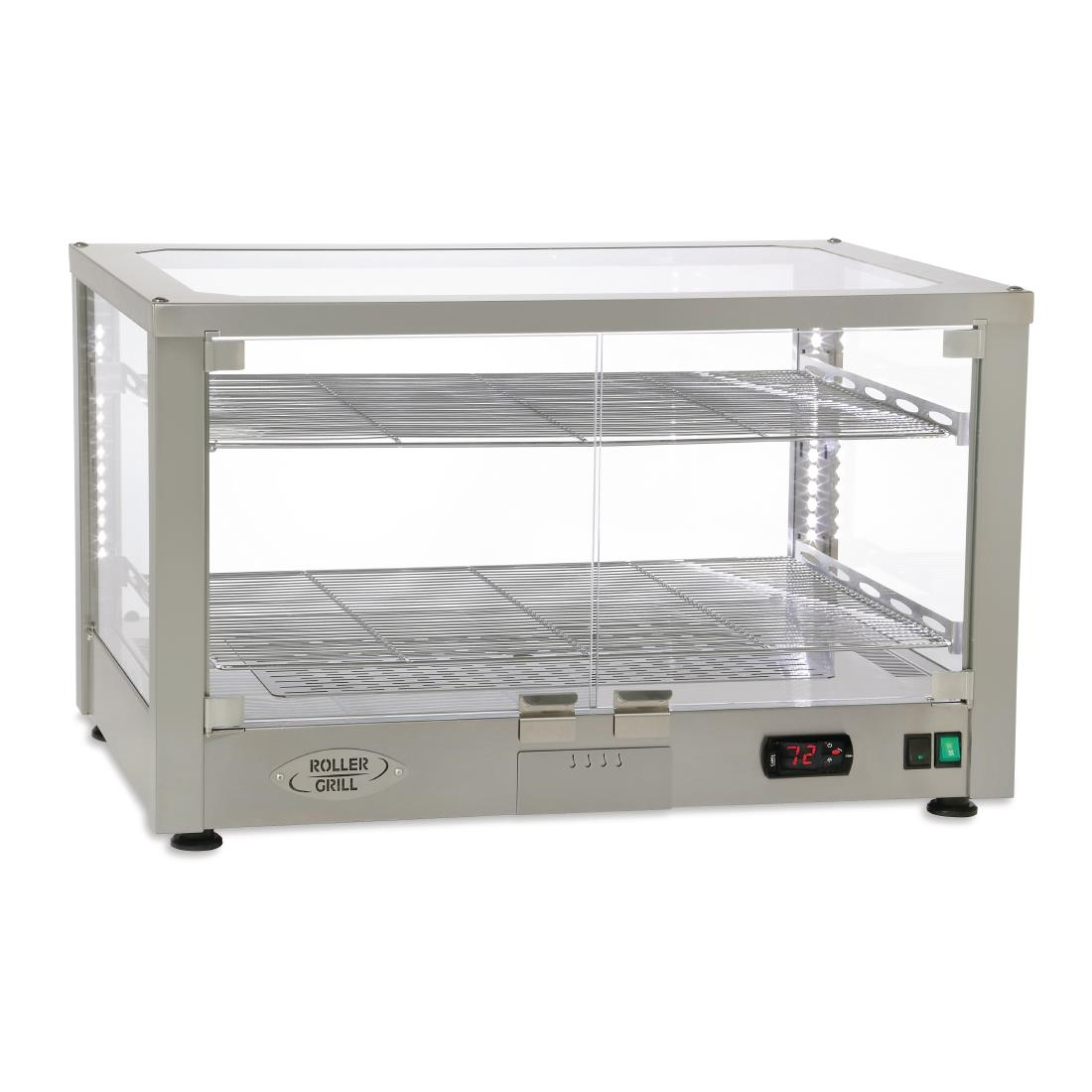 Click to view product details and reviews for Roller Grill Heated 2 Shelf Display Cabinet Wd780 Si.