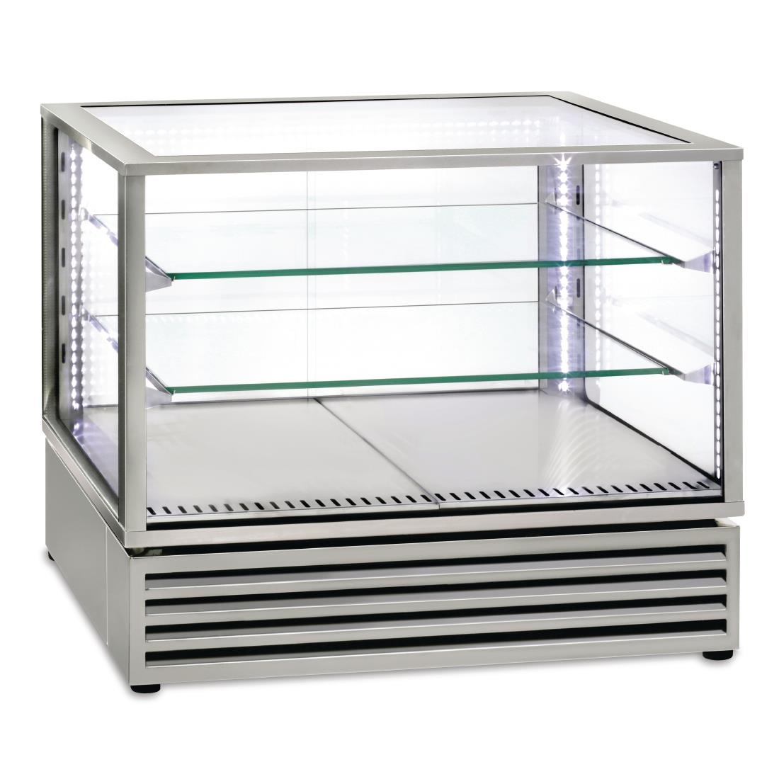 Roller Grill Countertop Display Fridge 2/1GN Stainless Steel CD800 I