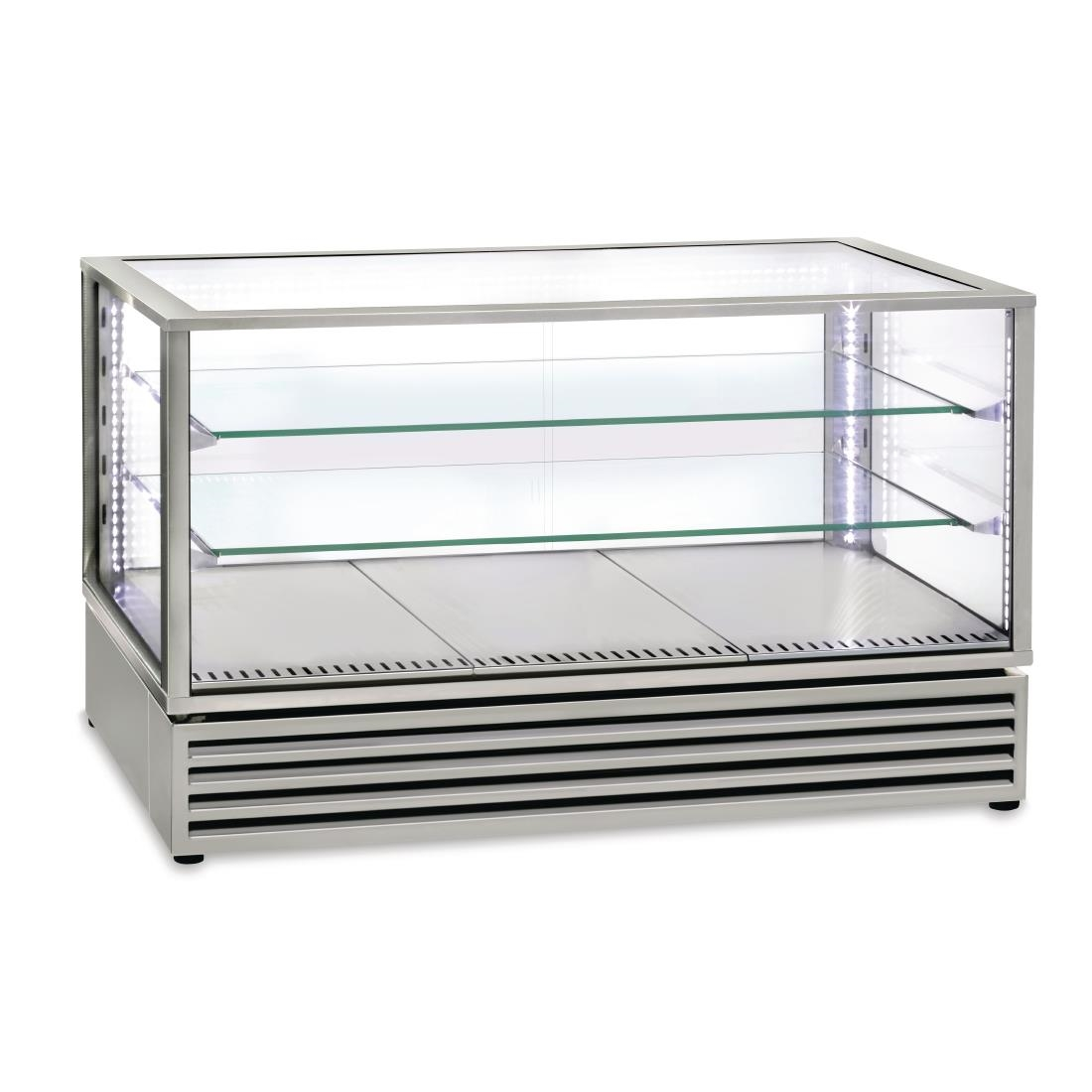 Roller Grill Countertop Display Fridge 3/1GN Stainless Steel CD1200 I