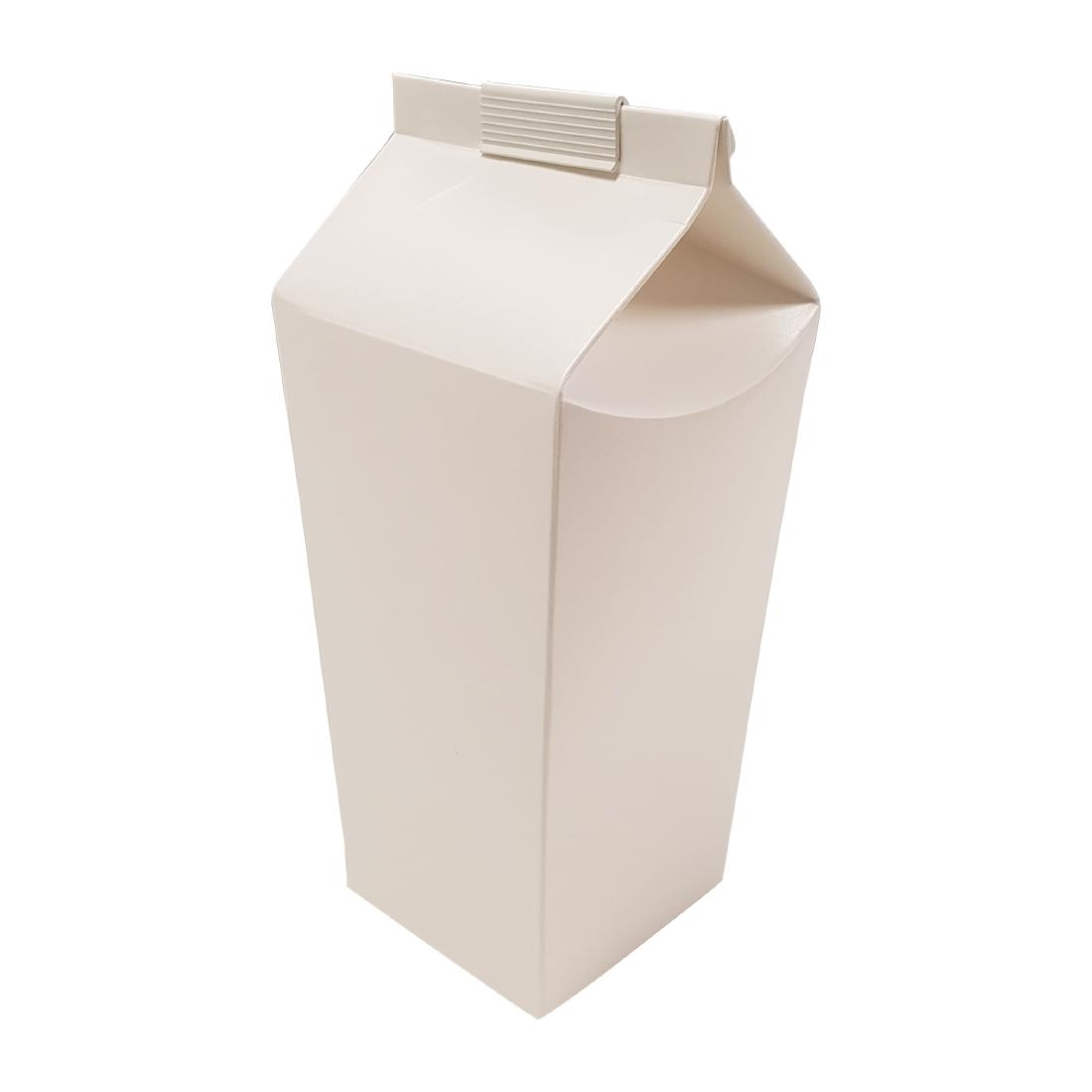 Image of 2 Pint Beer Cartons White (Pack of 100) Pack of 100