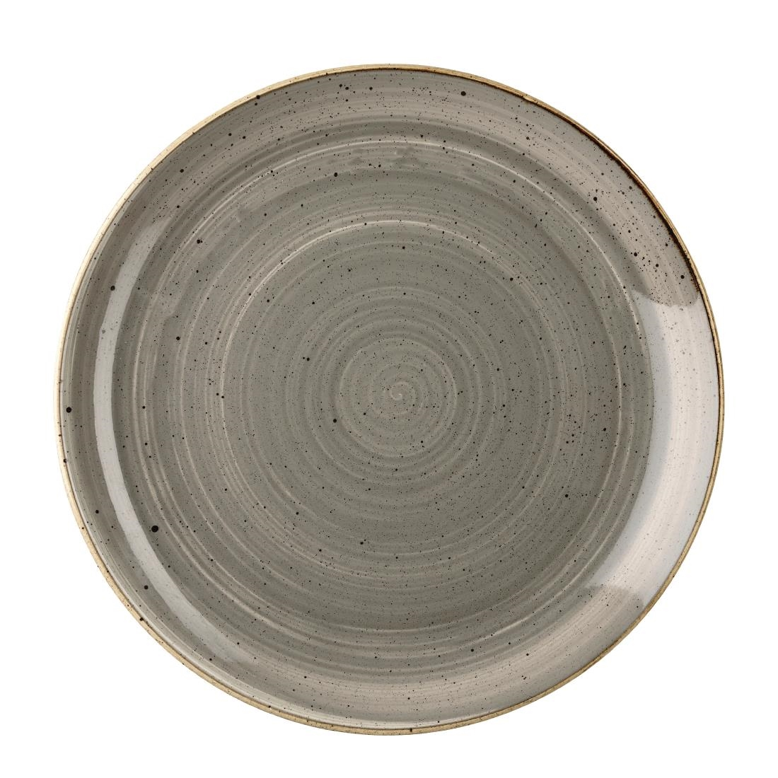 ... churchill-stonecast-round-coupe-plates-peppercorn-grey-295mm  sc 1 st  Nisbets & Churchill Stonecast Round Coupe Plate Peppercorn Grey 260mm - DK553 ...
