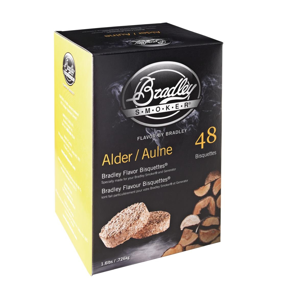 Image of Bradley Food Smoker Bisquettes BTAL48 (Pack of 48) Pack of 48