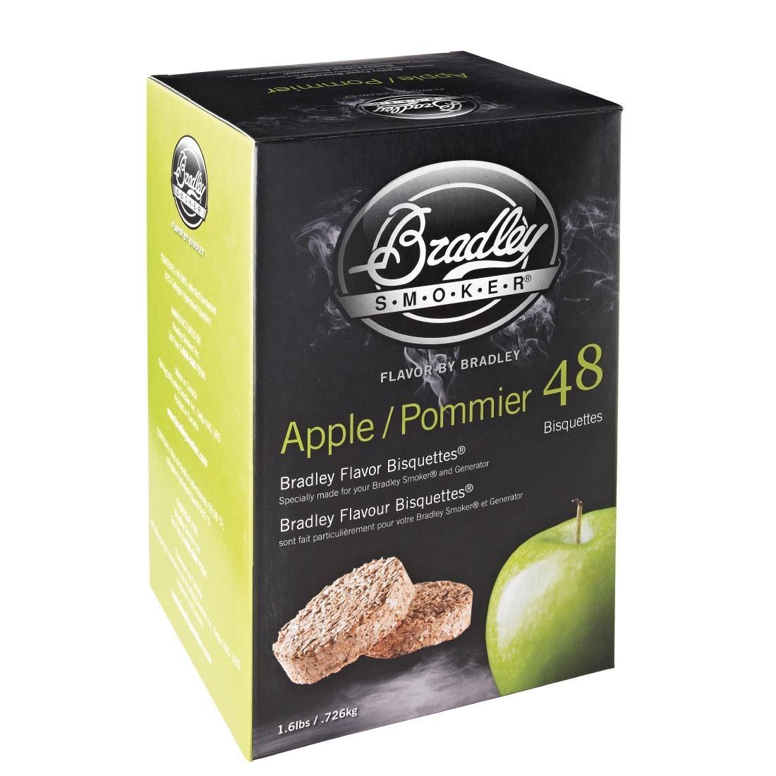 Image of Bradley Food Smoker Bisquettes BTAP48 (Pack of 48) Pack of 48